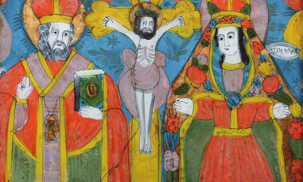 Св. Миколай, Розп`яття,  Богородиця-Покрова